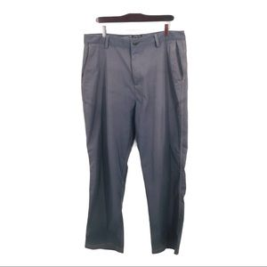 ADIDAS Grey Men's Athletic Golf  Pants 36